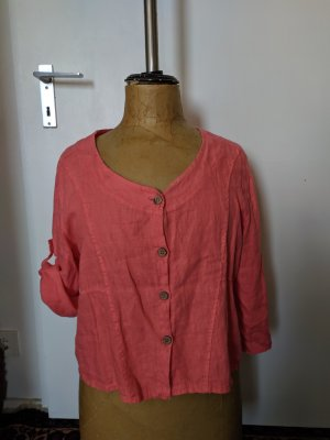 Made in Italy Linen Blouse multicolored