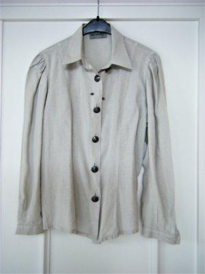 Linen Blouse light grey linen