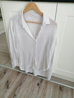 Blaumax Linen Blouse white