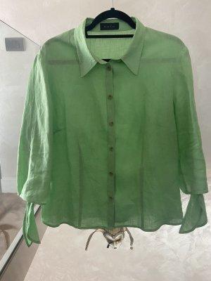 Oui Lniana bluzka miętowy