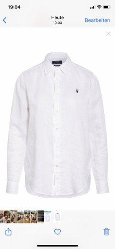 Polo Ralph Lauren Camicia blusa bianco Lino