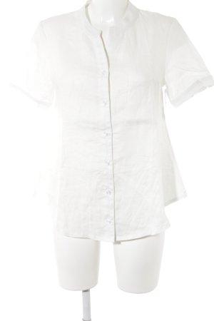 Linen Blouse natural white flecked