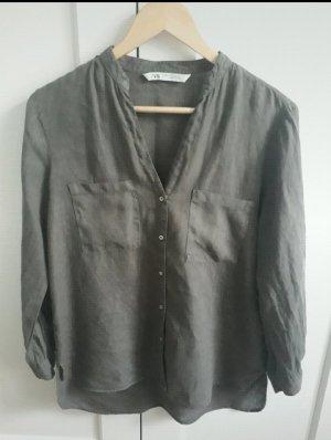 Leinenbluse Zara