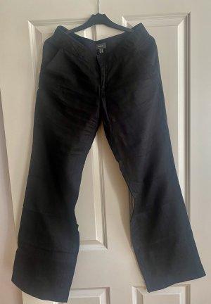 Mexx Lniane spodnie czarny