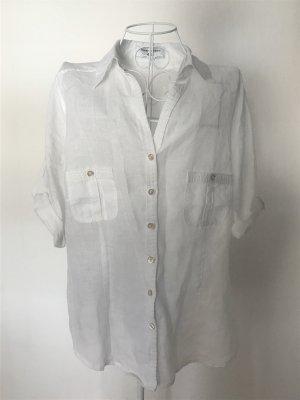 Theresa König Koszula z krótkim rękawem biały