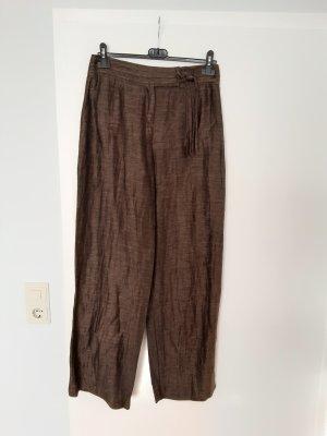 Biba Pantalone di lino marrone