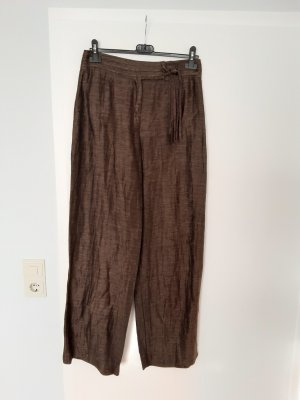 Biba Linen Pants brown