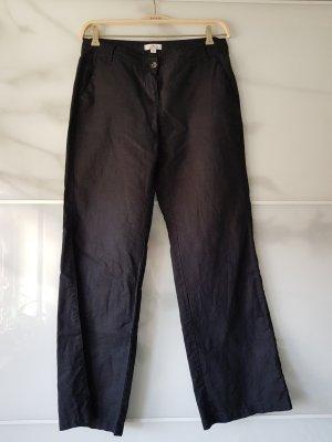 s.Oliver Linen Pants black