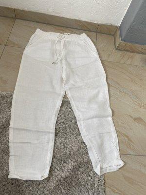 L.O.G.G. H&M High Waist Trousers white