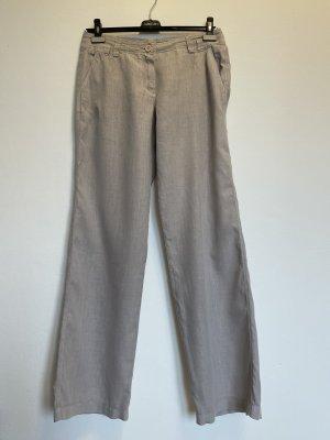 René Lezard Pantalón de lino gris claro Lino