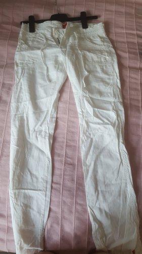 edc Pantalone di lino bianco