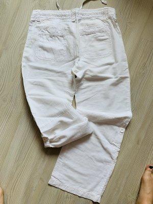H&M L.O.G.G. Pantalone di lino bianco