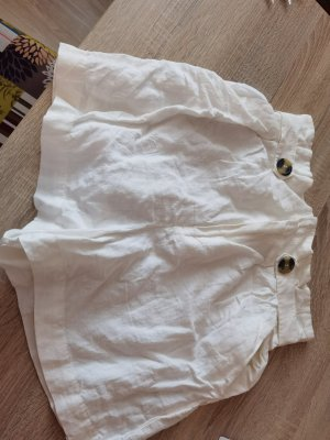 H&M Pantalone di lino bianco Lino