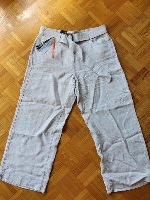 Zerres Pantalone di lino beige chiaro