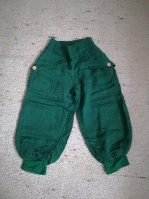 Pantalone di lino verde bosco