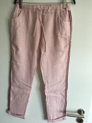 new collection Pantalon en lin rosé lin