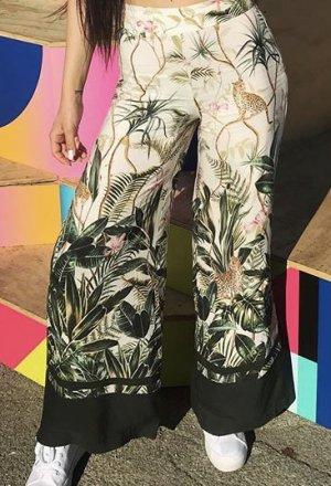 H&M Pantalone di lino crema Lino