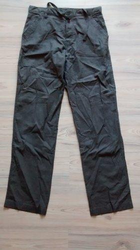 Leinenhose Hose Leinen Gr. 36 S grün Sommerhose lang neu metal