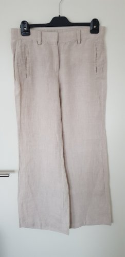 Lands' End Pantalone di lino beige Lino