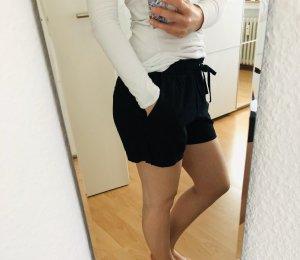 Leinenhose in Schwarz von H&M