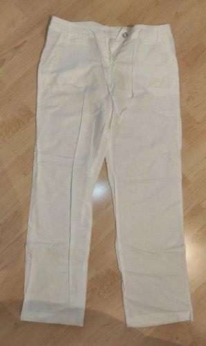 Charles Vögele Linen Pants white