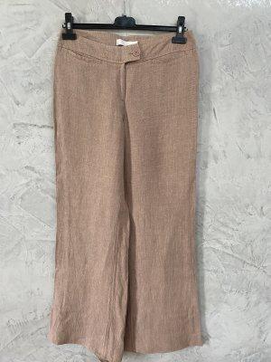 Mango Pantalone di lino rosa antico Lino