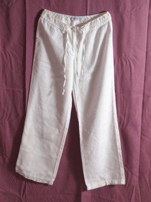 Public Pantalón de lino blanco Lino