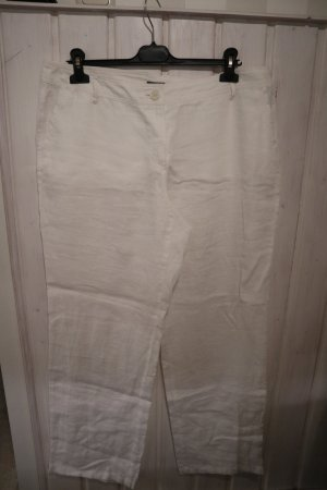 Gerry Weber Linen Pants white-natural white linen
