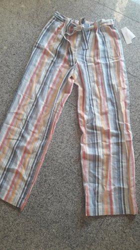 Laundry by Shelli Segal Pantalon en lin multicolore