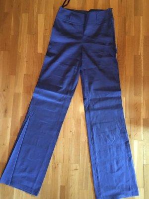 Minx Pantalón de lino azul acero Lino