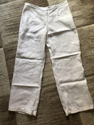 Orwell Pantalón de lino blanco
