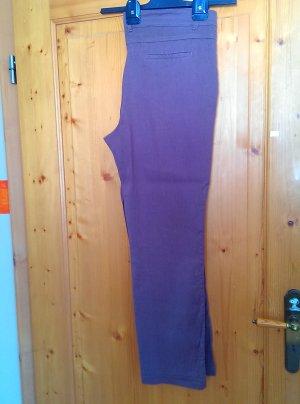 Walbusch Pantalone di lino marrone