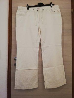 Sheego Linen Pants white