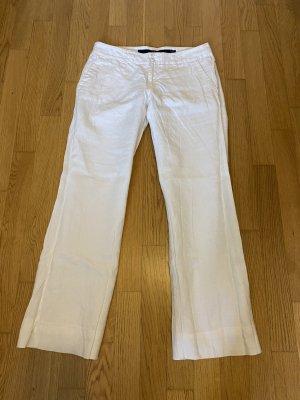 Mexx Pantalone di lino bianco