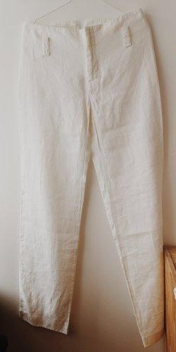 Zara Linen Pants white