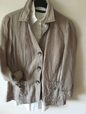 Public Blouse Jacket grey brown