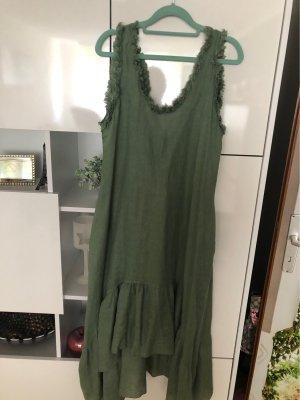 0039 Italy Robe longue kaki