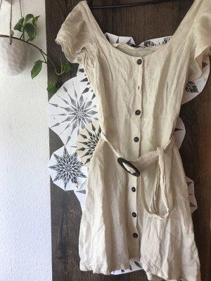 Zara Abito hippie crema