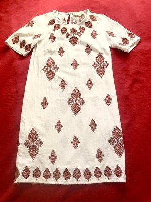 Michael Kors Letnia sukienka biały-rudy Len