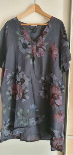 Made in Italy Tunic Dress slate-gray-pale blue