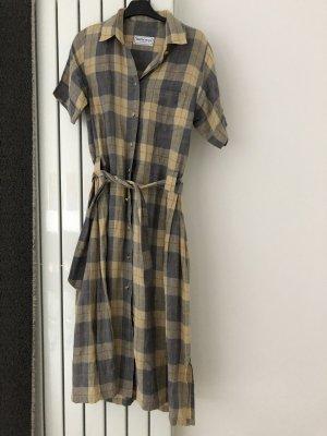 Burberrys of London Koszulowa sukienka kremowy-błękitny