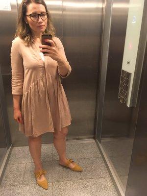 Reserved Shortsleeve Dress beige-oatmeal
