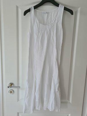 Leinenkleid Weiß Gr. M