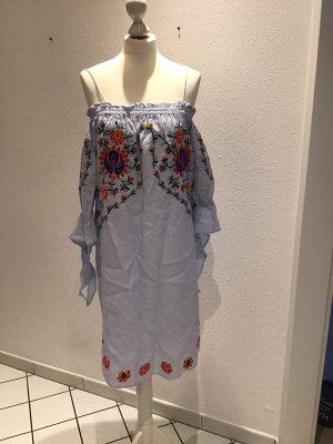 Leinenkleid Zara schilterfrei