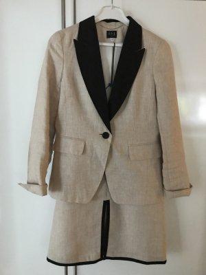 1.2.3 Paris Ladies' Suit oatmeal-black