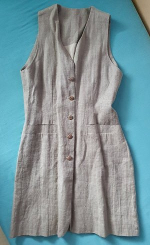 C&A Clockhouse Long Knitted Vest beige linen