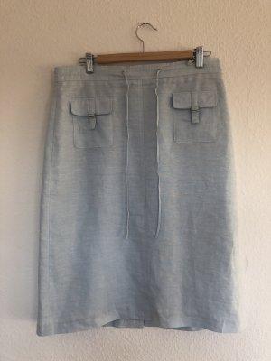 Gerry Weber Linen Skirt azure linen