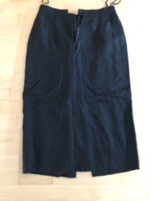 Louis Feraud Linen Skirt black