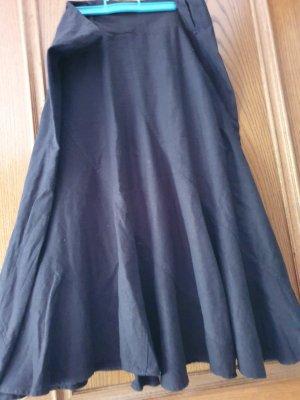 m&s mode Linen Skirt black