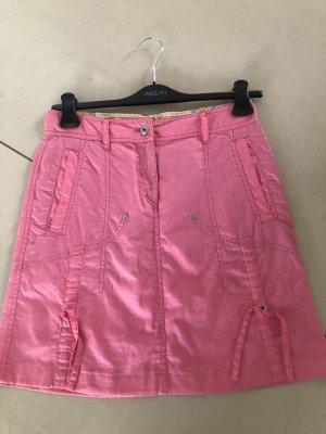 MARCCAIN Linen Skirt neon pink